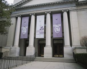 ヘミングウェイミュージアム外観シカゴ アメリカの写真素材 [FYI03305815]
