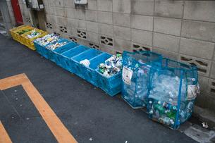 分別ゴミ箱の写真素材 [FYI03306053]