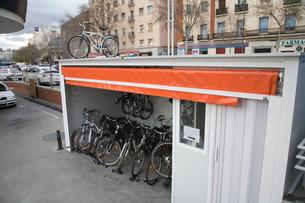レンタル自転車の写真素材 [FYI03306278]