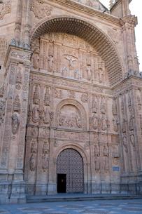 サン・エステバン修道院ファサードの写真素材 [FYI03306381]