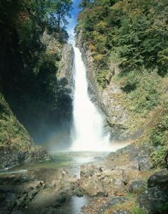 暗門の滝 第3の滝の写真素材 [FYI03307124]