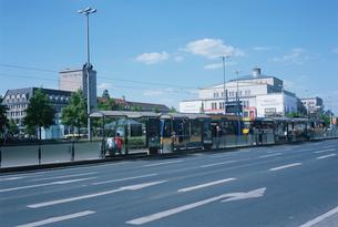ライプツィヒ中央駅の写真素材 [FYI03307156]
