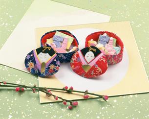 ひな祭りの干菓子の写真素材 [FYI03307294]