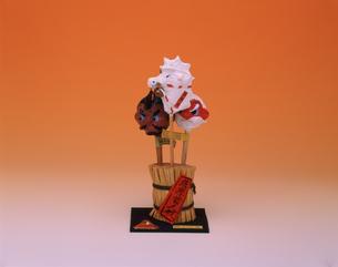 薩摩首人形 土製の写真素材 [FYI03310141]