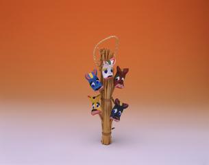 下総首人形 土・藁製の写真素材 [FYI03310176]