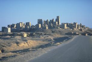 アルムカツラの城壁 イエメンの写真素材 [FYI03312896]