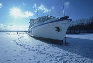 冬のバイカル湖の写真素材 [FYI03312909]