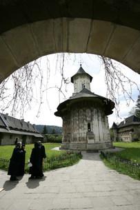 スチェヴィッア修道院の写真素材 [FYI03312939]