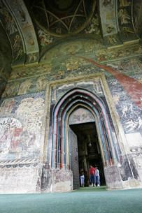 スチェヴィッア修道院の写真素材 [FYI03312943]