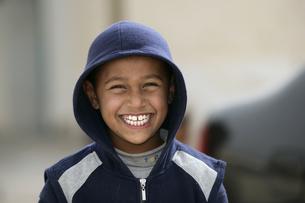 べルべル人の子供の写真素材 [FYI03312998]