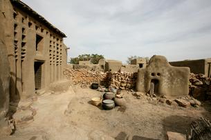ドゴン族の民家の写真素材 [FYI03313171]