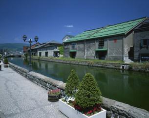 小樽運河の写真素材 [FYI03313781]