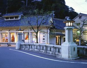 城崎温泉夜景の写真素材 [FYI03313866]