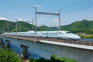 九州山陽新幹線さくら 試験走行の写真素材 [FYI03314964]