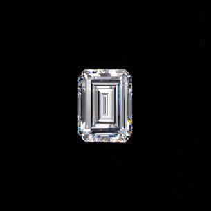 ダイヤモンド エメラルドカットの写真素材 [FYI03315420]