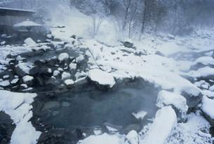 穂高の湯 新穂高温泉の写真素材 [FYI03315650]