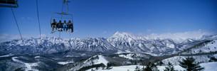 戸隠スキー場の写真素材 [FYI03315769]