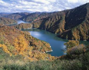 田子倉湖の写真素材 [FYI03315799]