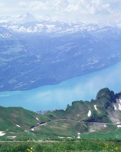 ロートホルンからブリエンツ湖の写真素材 [FYI03316105]