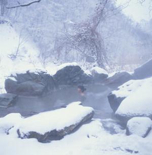 五色温泉 「五色の湯旅館」の写真素材 [FYI03316134]