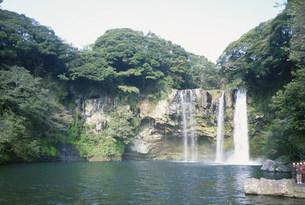 天地渕瀑布の写真素材 [FYI03316226]