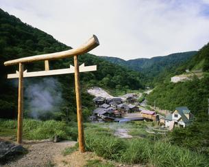 泥湯温泉の写真素材 [FYI03316358]