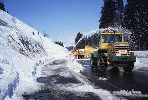除雪作業の写真素材 [FYI03316365]