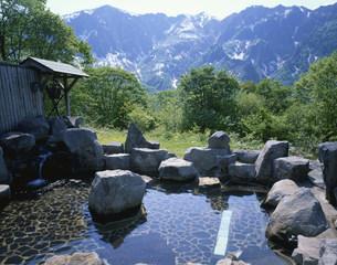 秋山郷 のよさの里の写真素材 [FYI03316659]