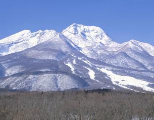 妙高山の雪景色の写真素材 [FYI03316788]