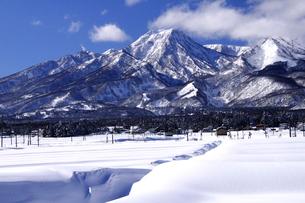 冬の妙高山の写真素材 [FYI03317022]