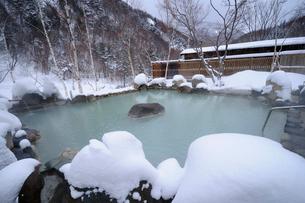 恵の湯 露天風呂の写真素材 [FYI03317033]