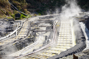 玉川温泉源泉の写真素材 [FYI03317593]