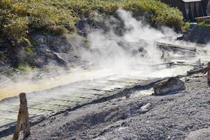 玉川温泉源泉の写真素材 [FYI03317594]