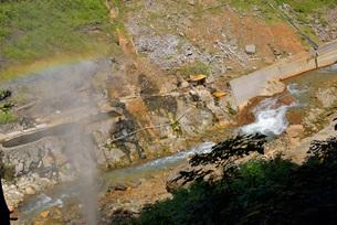 地獄谷温泉露天風呂の写真素材 [FYI03317783]