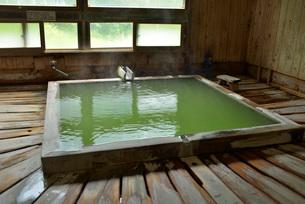 五色の湯旅館内湯の写真素材 [FYI03317815]