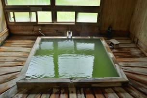 五色の湯旅館内湯の写真素材 [FYI03317816]