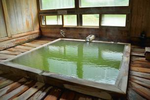 五色の湯旅館内湯の写真素材 [FYI03317819]