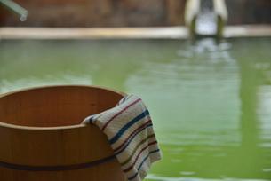 湯桶と湯口の写真素材 [FYI03317820]