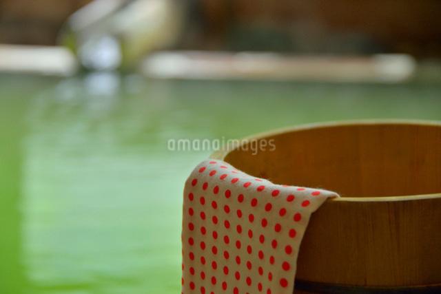 湯桶と湯口の写真素材 [FYI03317825]