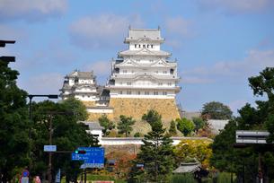改修なった姫路城大天守の写真素材 [FYI03317859]