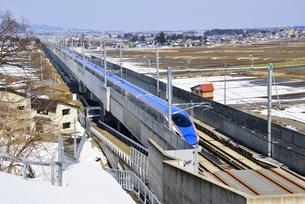 北陸新幹線の写真素材 [FYI03317968]