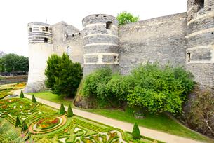 アンジェ城城壁の写真素材 [FYI03318231]
