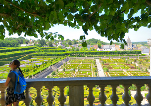 ヴィランドリー城庭園の写真素材 [FYI03318251]
