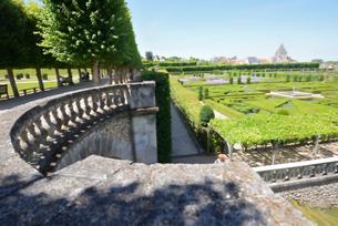 ヴィランドリー城庭園の写真素材 [FYI03318255]