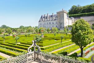 ヴィランドリー城庭園と城館の写真素材 [FYI03318262]