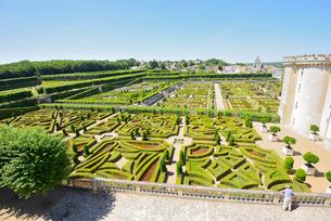 ヴィランドリー城庭園の写真素材 [FYI03318274]