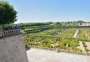 ヴィランドリー城庭園の写真素材 [FYI03318278]