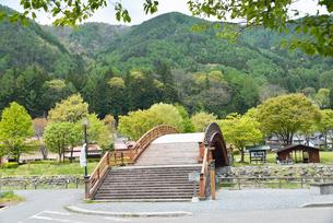 木曽の大橋の写真素材 [FYI03318682]