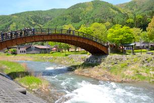 奈良井木曽の大橋の写真素材 [FYI03318753]