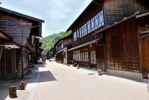 木曽奈良井宿の写真素材 [FYI03318754]